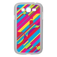 Colorful summer pattern Samsung Galaxy Grand DUOS I9082 Case (White)