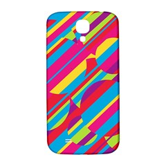 Colorful summer pattern Samsung Galaxy S4 I9500/I9505  Hardshell Back Case