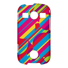 Colorful summer pattern Samsung Galaxy S7710 Xcover 2 Hardshell Case