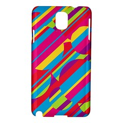 Colorful summer pattern Samsung Galaxy Note 3 N9005 Hardshell Case