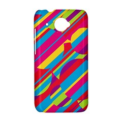 Colorful summer pattern HTC Desire 601 Hardshell Case