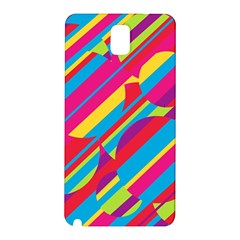 Colorful summer pattern Samsung Galaxy Note 3 N9005 Hardshell Back Case