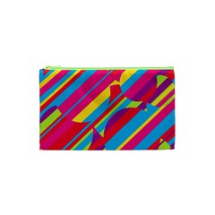 Colorful summer pattern Cosmetic Bag (XS)