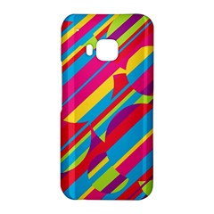 Colorful summer pattern HTC One M9 Hardshell Case