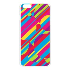 Colorful summer pattern Apple Seamless iPhone 6 Plus/6S Plus Case (Transparent)