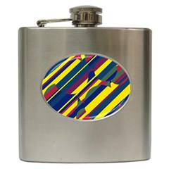 Colorful pattern Hip Flask (6 oz)
