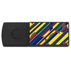 Colorful pattern USB Flash Drive Rectangular (2 GB)
