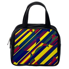 Colorful pattern Classic Handbags (One Side)