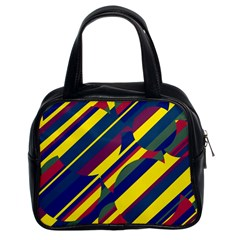 Colorful pattern Classic Handbags (2 Sides)