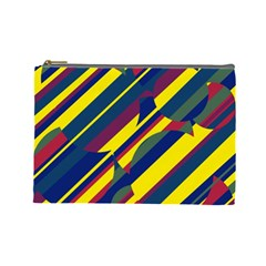 Colorful pattern Cosmetic Bag (Large)