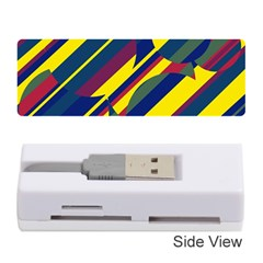 Colorful Pattern Memory Card Reader (stick)