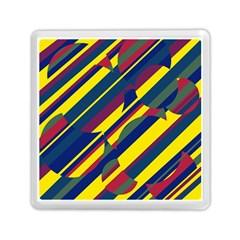 Colorful pattern Memory Card Reader (Square)