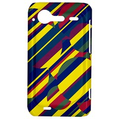 Colorful pattern HTC Incredible S Hardshell Case