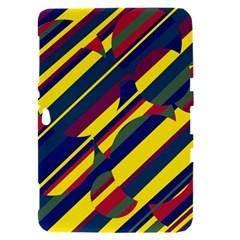 Colorful pattern Samsung Galaxy Tab 8.9  P7300 Hardshell Case
