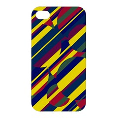 Colorful pattern Apple iPhone 4/4S Premium Hardshell Case