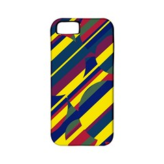 Colorful pattern Apple iPhone 5 Classic Hardshell Case (PC+Silicone)