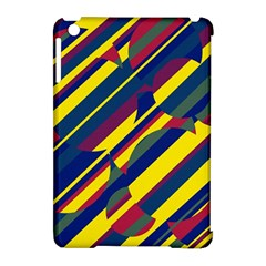 Colorful pattern Apple iPad Mini Hardshell Case (Compatible with Smart Cover)