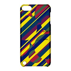Colorful pattern Apple iPod Touch 5 Hardshell Case with Stand