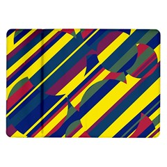 Colorful pattern Samsung Galaxy Tab 10.1  P7500 Flip Case
