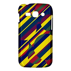 Colorful pattern Samsung Galaxy Ace 3 S7272 Hardshell Case
