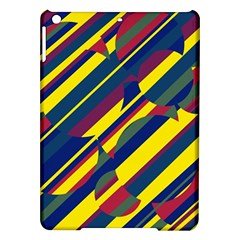 Colorful pattern iPad Air Hardshell Cases