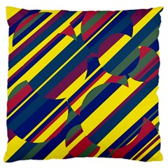 Colorful pattern Standard Flano Cushion Case (Two Sides)