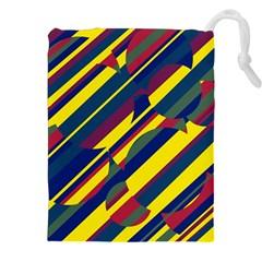 Colorful pattern Drawstring Pouches (XXL)