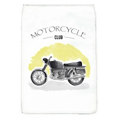 Vintage Watercolor Motorcycle Flap Covers (L)