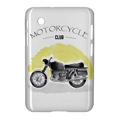 Vintage Watercolor Motorcycle Samsung Galaxy Tab 2 (7 ) P3100 Hardshell Case