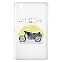 Vintage Watercolor Motorcycle Samsung Galaxy Tab Pro 8.4 Hardshell Case