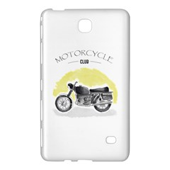Vintage Watercolor Motorcycle Samsung Galaxy Tab 4 (7 ) Hardshell Case
