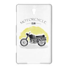 Vintage Watercolor Motorcycle Samsung Galaxy Tab S (8.4 ) Hardshell Case