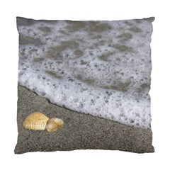 Seashells in the waves Standard Cushion Case (One Side)