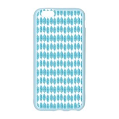 Blue Watercolour Leaf Pattern Apple Seamless iPhone 6/6S Case (Color)
