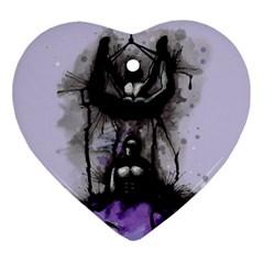 Suspension Ornament (Heart)