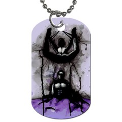 Suspension Dog Tag (One Side)
