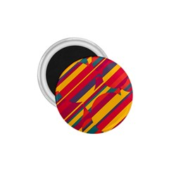 Colorful hot pattern 1.75  Magnets