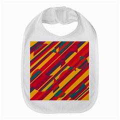 Colorful Hot Pattern Bib