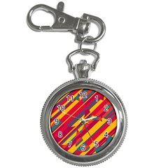 Colorful hot pattern Key Chain Watches