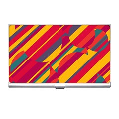 Colorful hot pattern Business Card Holders