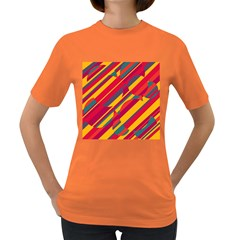 Colorful hot pattern Women s Dark T-Shirt