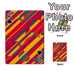 Colorful hot pattern Playing Cards 54 Designs