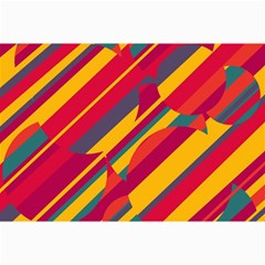 Colorful hot pattern Collage Prints