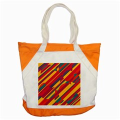 Colorful hot pattern Accent Tote Bag