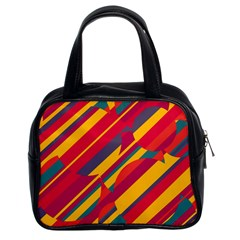 Colorful hot pattern Classic Handbags (2 Sides)
