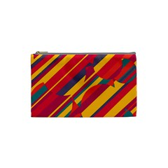 Colorful hot pattern Cosmetic Bag (Small)