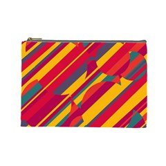 Colorful hot pattern Cosmetic Bag (Large)