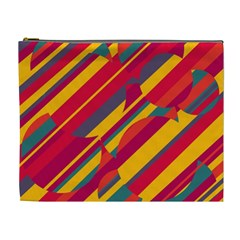 Colorful hot pattern Cosmetic Bag (XL)
