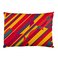 Colorful hot pattern Pillow Case (Two Sides)