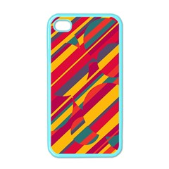 Colorful hot pattern Apple iPhone 4 Case (Color)